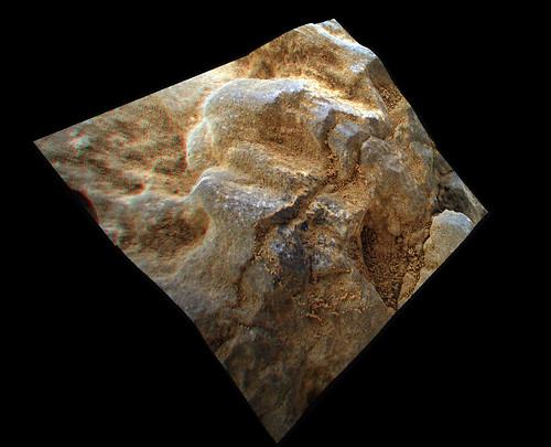 Curiosity: Nova - MAHLI sol 688 3d anaglyph