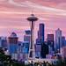 Seattle Sunrise by CEBImagery.com