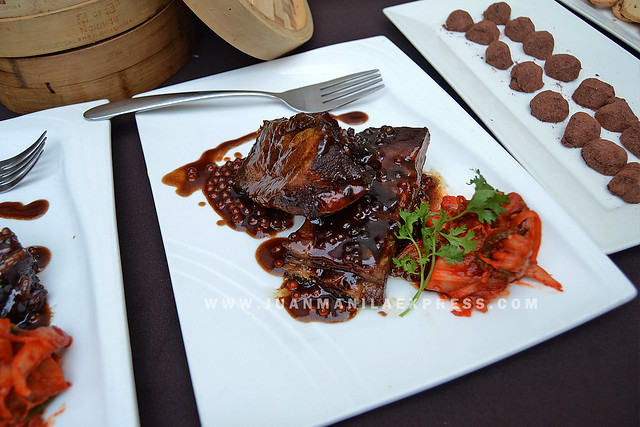 COFFEE PORK SPARERIBS. One of the featured Coffee Creations by Johnny Chow.