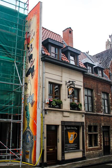 Bob y Bobet - Willy Vendersteen (junio 1995). Rue de Laeken/Lakensestraat 116