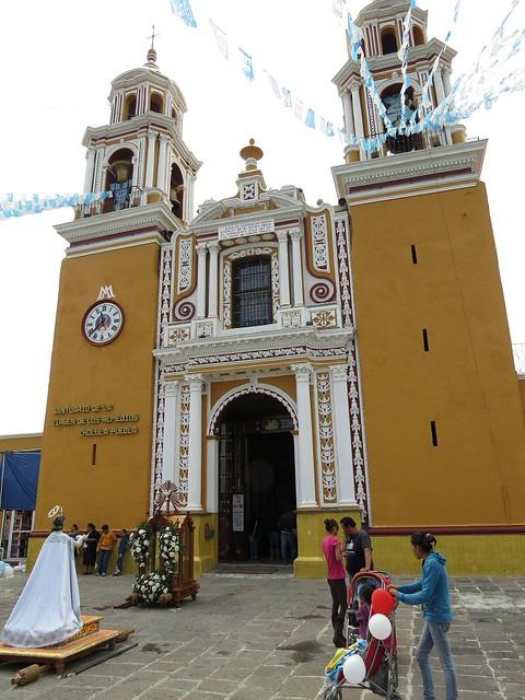 Iglesia de Nuestra Señora de los Remedios - Cholula, Puebla, Mexico - July 6, 2014