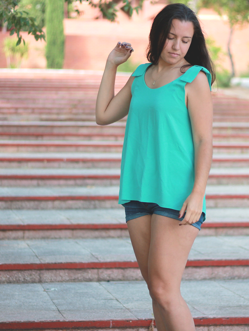 Aquamarine top | Miss Ecl