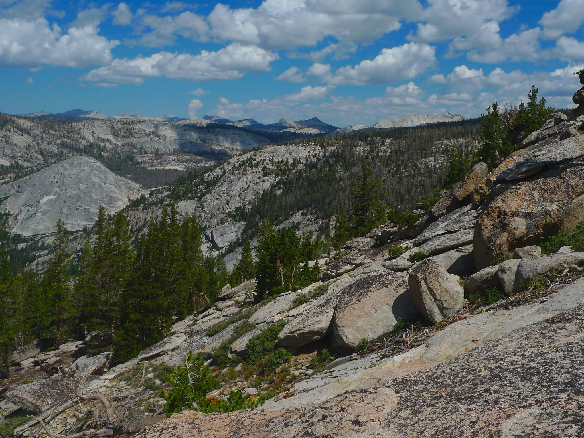 Yosemite high country and domes