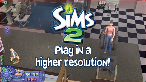 The Sims 2 Ultimate Collection: Increase Resolution Guide
