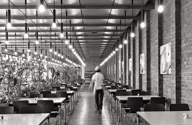 dining hall // neue mensa bergstraße