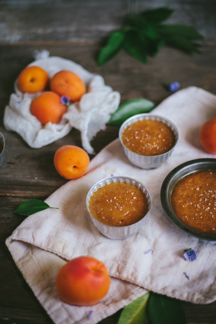 Salted Caramel and Apricot Pots de Creme | Adventures in Cooking