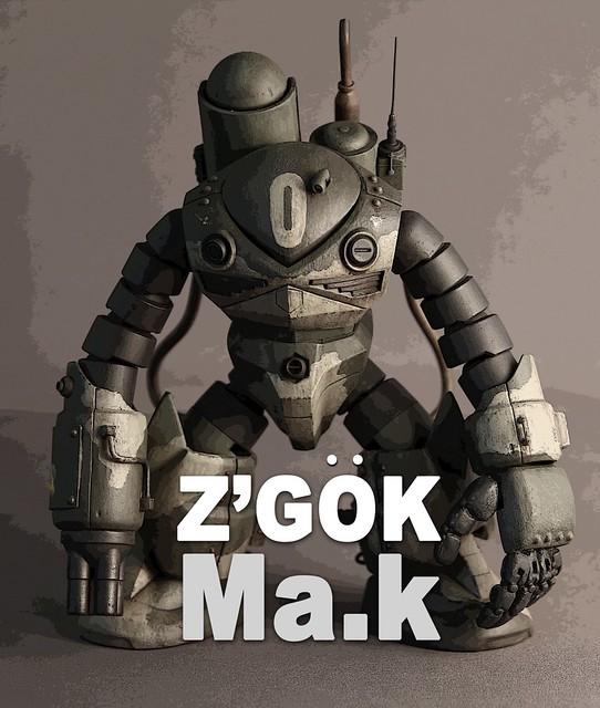 【玩具人投稿】[范姜吉姆] Z'OGK MA.K 分享