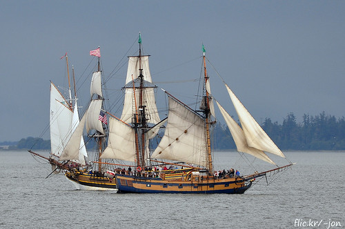 2014-07-19 Schooner Adventuress, Lady Washington & Hawaiian Chieftain (01) (1024x680)