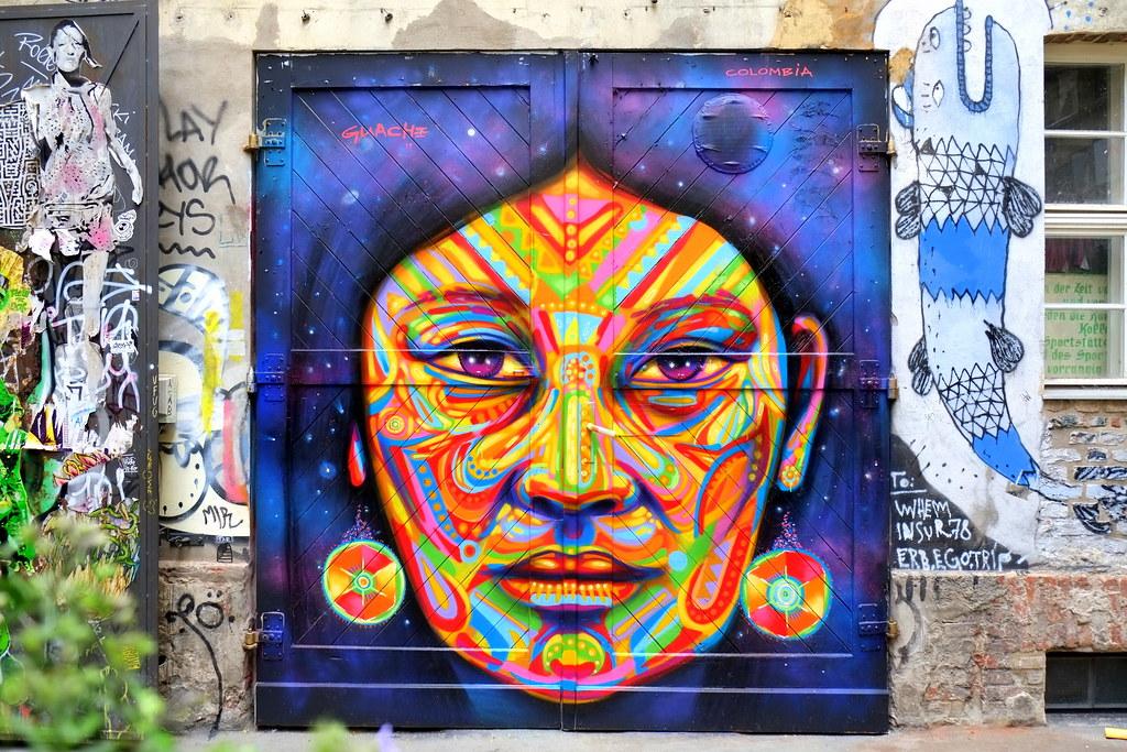 streetart | guache | berlin . haus schwarzenberg