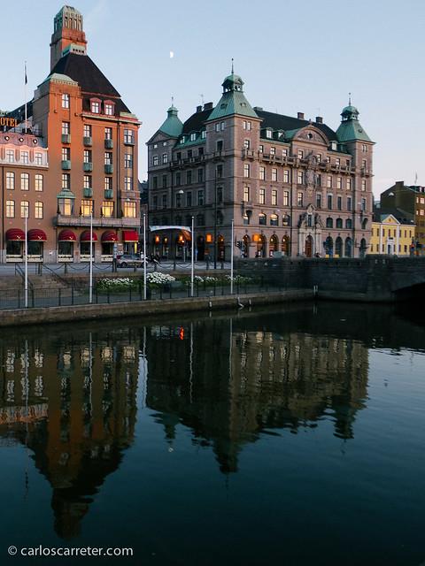 Atardecer en Malmö