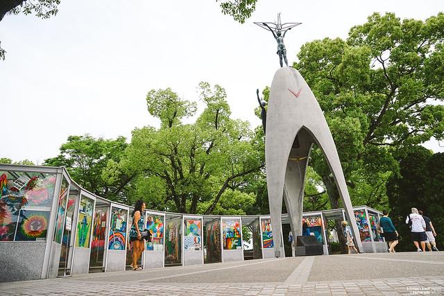 廣島平和紀念公園 原爆之子像