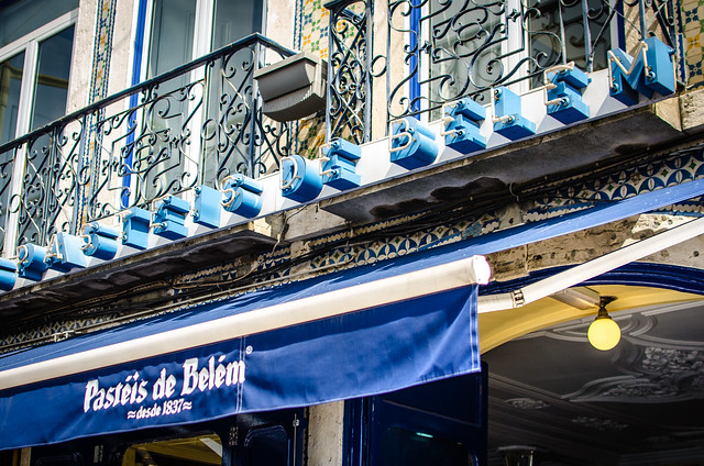 Don't miss Pastéis de Belém when in Lisbon, it's a must!