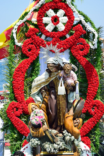 Procesión de la Virgen del Carmen de la Illa de Arousa 2014