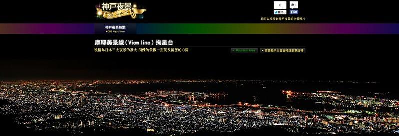 摩耶美景線(View line) 掬星台|神戶夜景 KOBE Jewelry Box