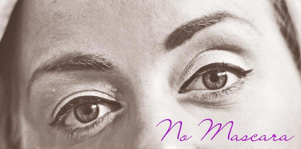 No mascara