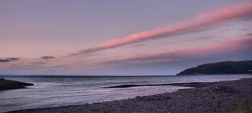 sunset sea beach clouds pentax somerset pebbles porlockweir k20d sigma18250mmmacro