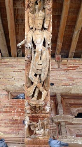 Nepal- Kathmandu - Jagannath Temple - Erotic Wood Carvings - 10