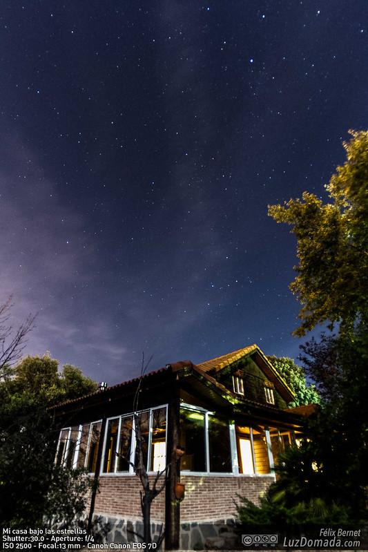 Mi casa bajo las estrellas