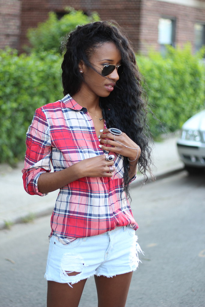 Plaid shirt 8