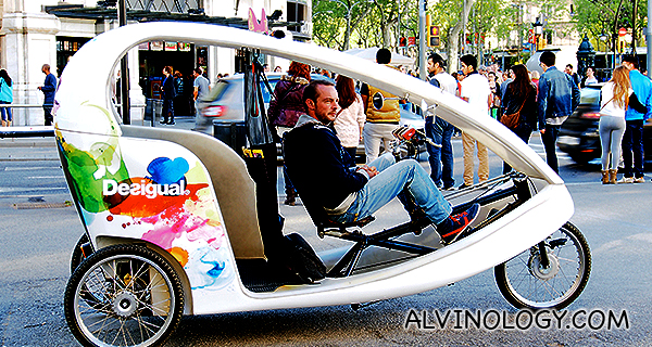 Desigual tricycle