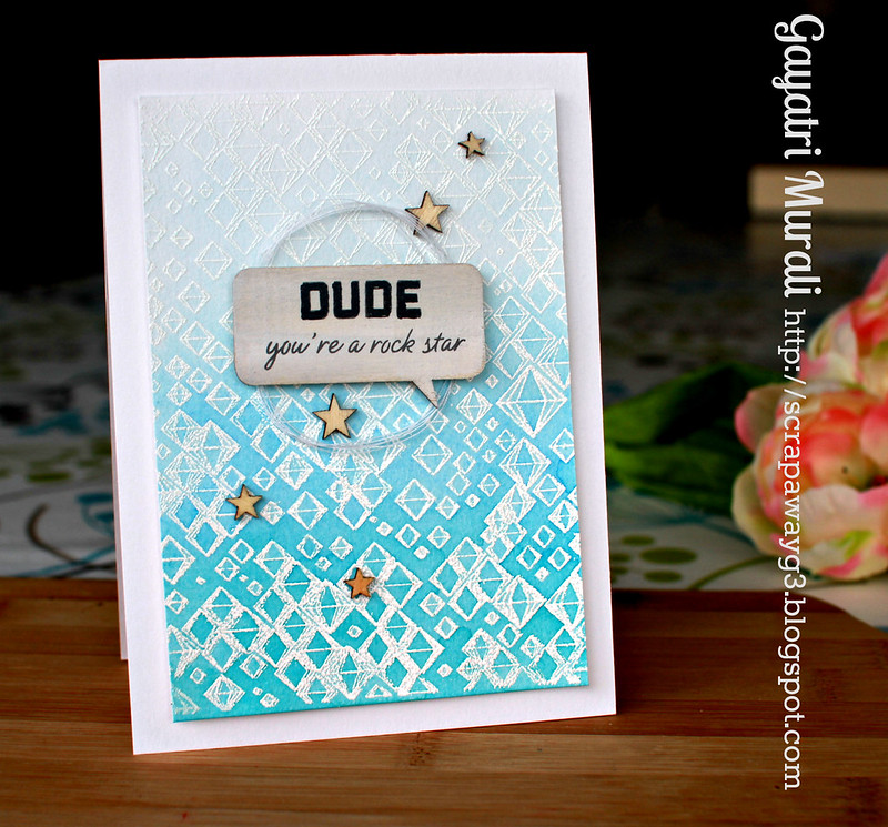 Dude card vertical