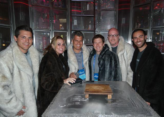 Denim Group at Red Square's Vodka Vault