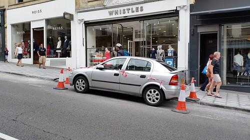 Hilarious sight on Park Street in Bristol