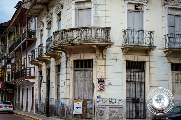 Run Down Building in Casco Viejo