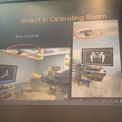 ##WIDI4H Kinect in the operating room. #opensource