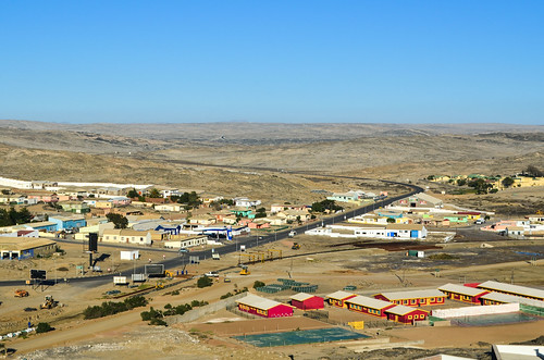 B4 road, from the desert into Lüderitz, Namibia