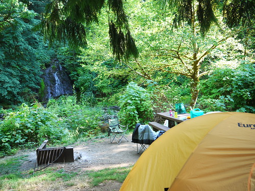 Alder Glen campground, OR