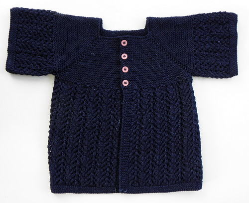 February Little Lady sweater - DONE