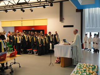140721 - Mass at St Andrews School Streatham - with leaving of Chair of Governors