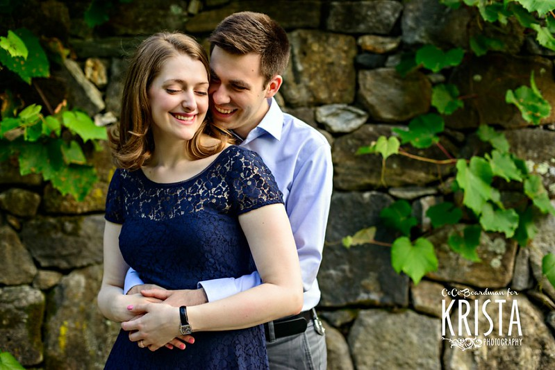 Spring Engagement Portrait Session at Arnold Arboretum