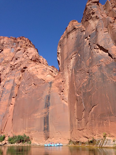 Colorado River wall