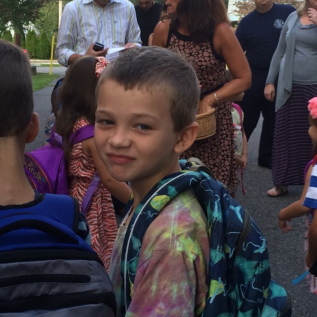 First day of Kindergarten #mombalance