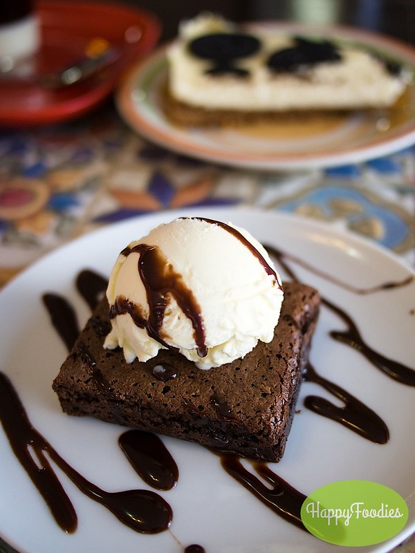 Brownie ala mode (Php 75)