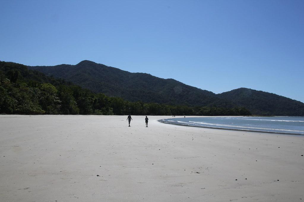 cape tribulation beach, cape tribulation, thornton beach, thornton peak, cooper creek