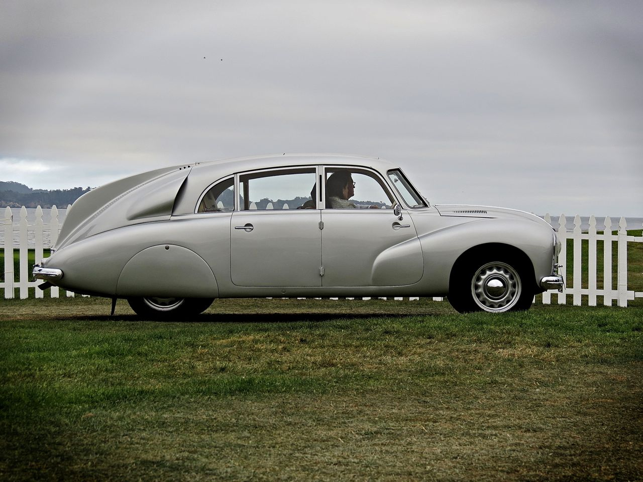 Pebble Beach 2014 Tatra T87 Aerodynamic Saloon