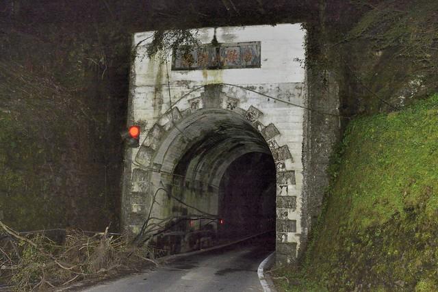 合歡山隧道南投端