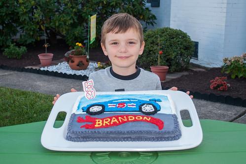 Brandon and his Cake