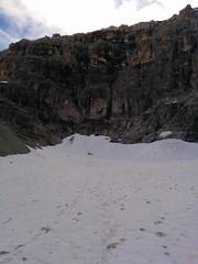 Aufstieg Hochbrunner Schneid durch das Innere Loch