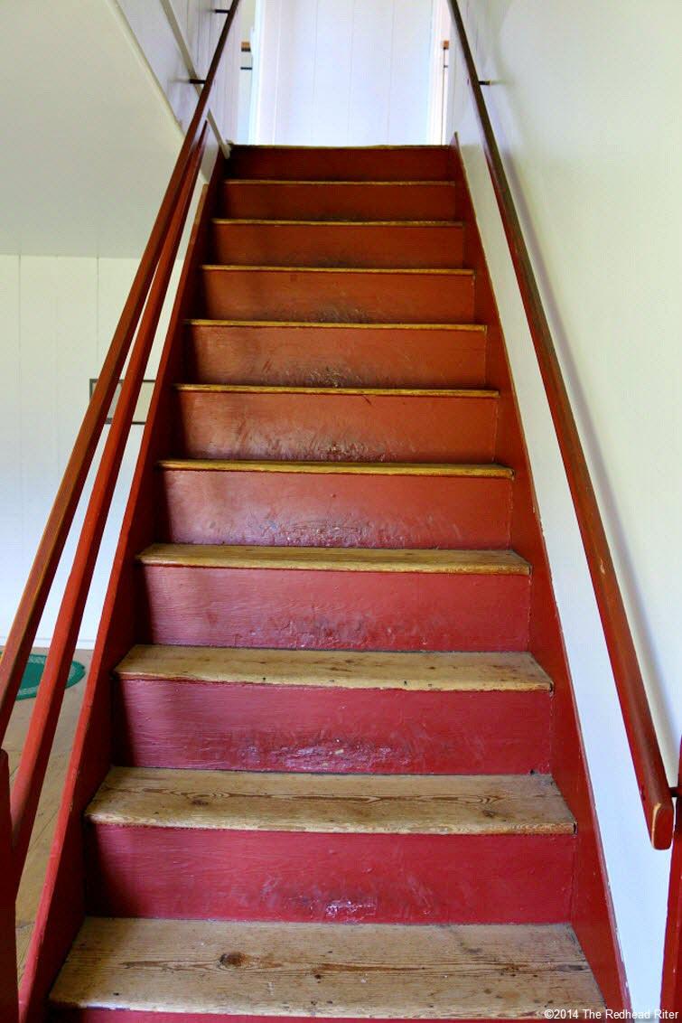 stairway - Stonewall Jackson Died In Guinea, Virginia