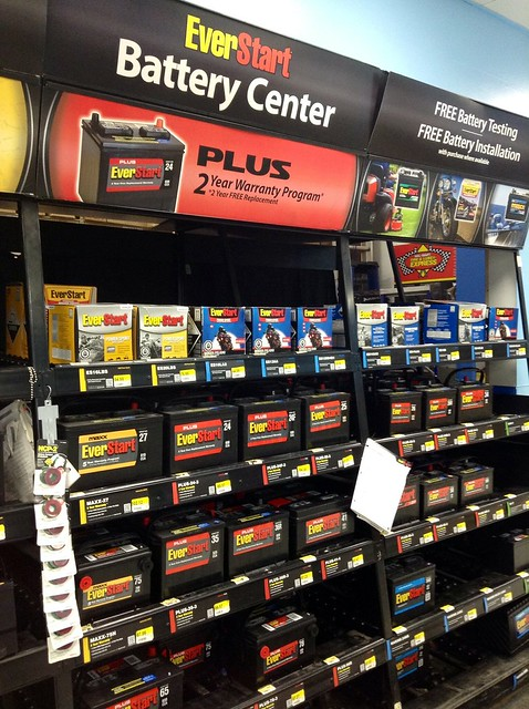 Walmart EverStart Car Batteries, Battery