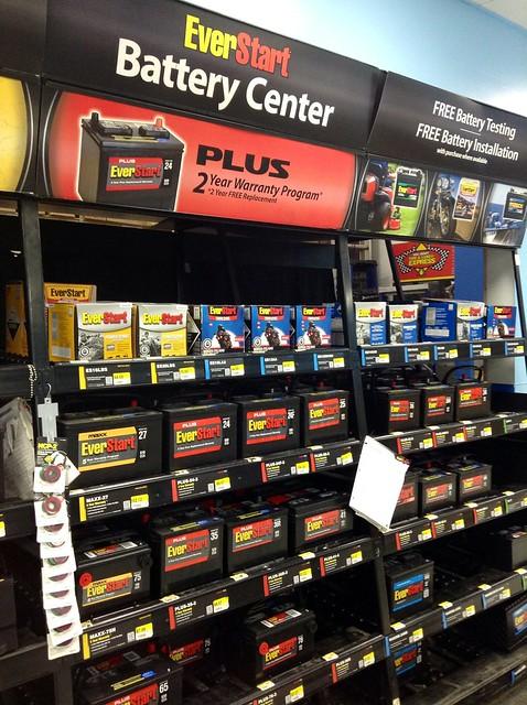 Disposing Of Car Batteries Walmart