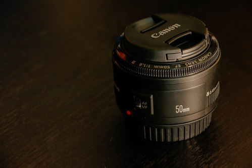 Canon Lens EF 50mm 1:1.8