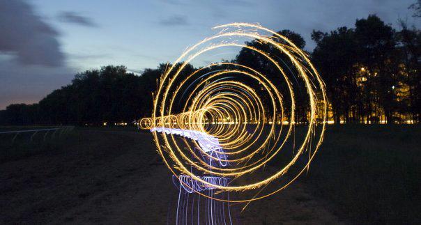Фризлайт, или как рисовать светом