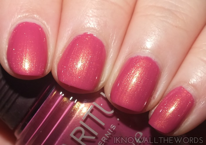 SPARitual nail lacquer- Strawberry Fields Forever  (2)