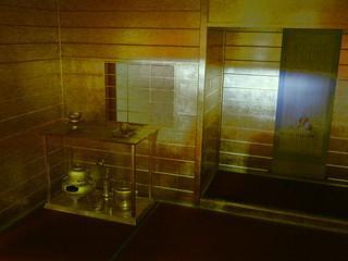 伏見お城まつり黄金茶室