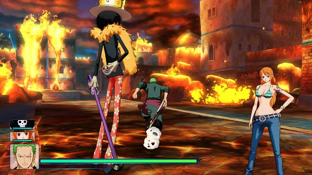 One Piece Unlimited World Red - Screenshot 1